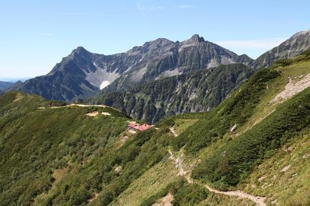 ヒュッテ西岳と穂高