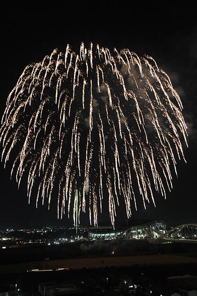 挙母祭 フィナーレの花火