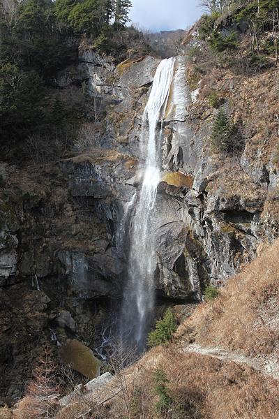 鳳凰三山 五色の滝