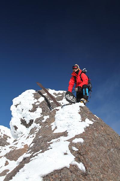 権現岳頂上