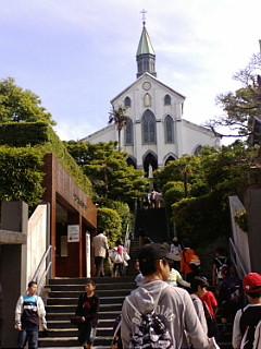 ベタに大浦天主堂。