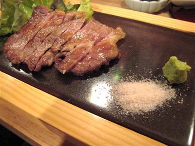 横浜ビーフステーキ ハーフ