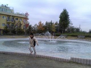 ミササガパーク(噴水)