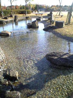 たんトピアじゃぶじゃぶ池