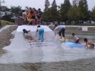 戸田川緑地 じゃぶじゃぶ池