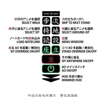 ZHAO-ZEN-Skin説明
