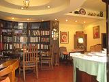 上海図書館喫茶店