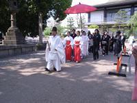 2009年4月19日住吉大社結婚式&二次回 014
