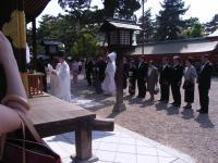 2009年4月19日住吉大社結婚式&二次回 023