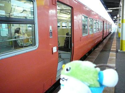 今日は汽車でおでかけ♪