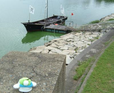 わぁ~、海賊船だ!