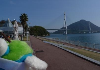 これがしまなみ海道だよ!