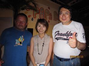 サイモンさんと後藤さんと