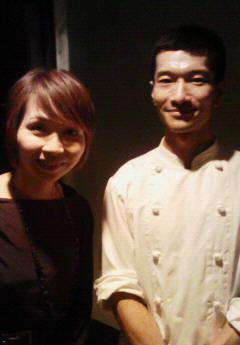 ぶらんのオーナー本田隆さんと私