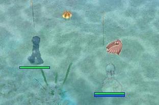 海に沈む夫婦