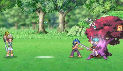 アクティブな木と戦闘っ