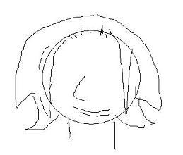リアルタル。髪型未遂
