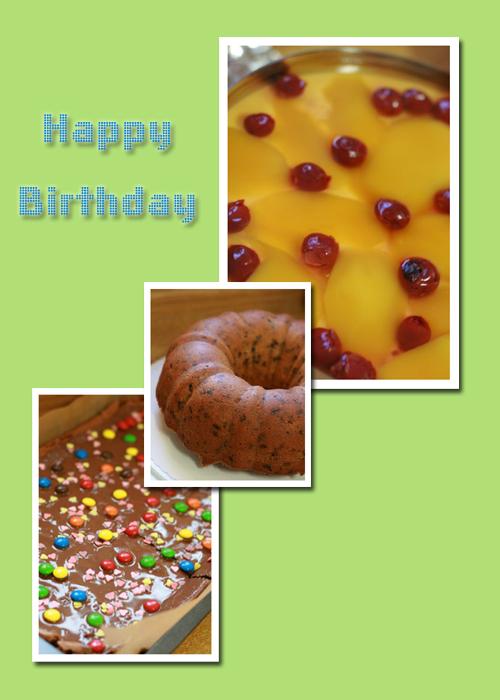 お誕生日ケーキのコピー