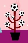 サッカーのなる木。