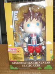 KINGDOM HEARTS AVATAR STATIC ARTS Vol.1 / Sora