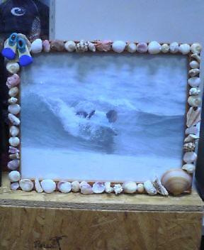 貝の写真たて00