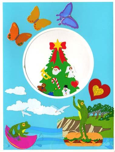 昔のクリスマスカード01