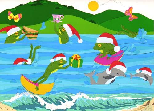 昔のクリスマスカード02