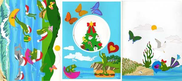 昔のクリスマスカード05