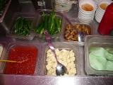 にんにくなどの薬味も野菜バーに。私が大好きなムー(大根)もあるでよ~
