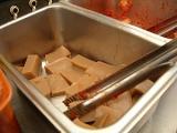 これがどんぐり豆腐(正式名称は知らない)。つるんと美味しい