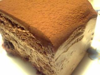 「ブラックチョコレートケーキ」赤坂Top's(東京)