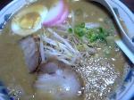 「みそラーメン」朱雀ラーメン(北九州市)