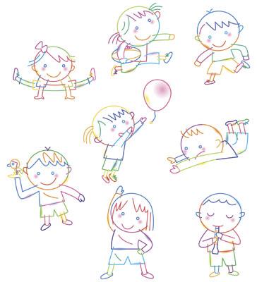 子ども遊ぶ