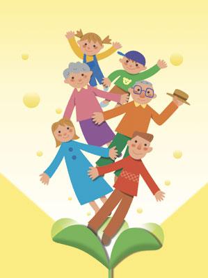 葉から家族