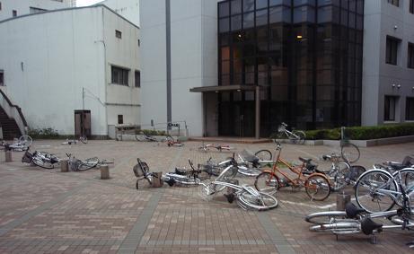 電通大の自転車