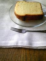 おいしいケーキ。