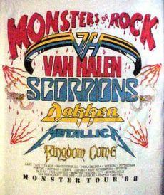 van halens monsters of rock