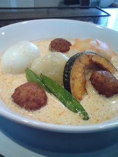 白スープカレー