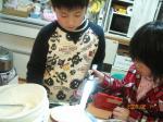 cake作り3♪