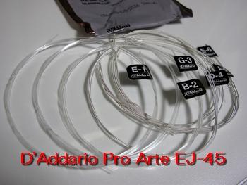 D'Addario Pro Arte EJ-45