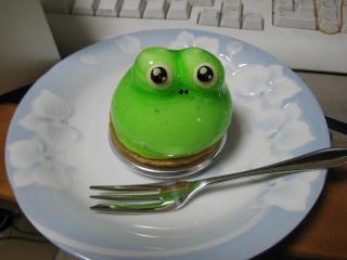 ゲコ太ケーキ