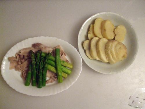 蒸し豚&野菜
