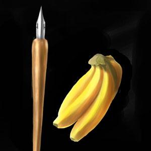 バナナとGペン