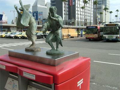 JR徳島駅ポスト