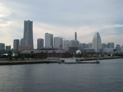 みなとみらい全景from大桟橋