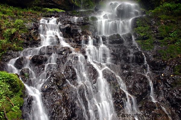 笠形山の滝3-2