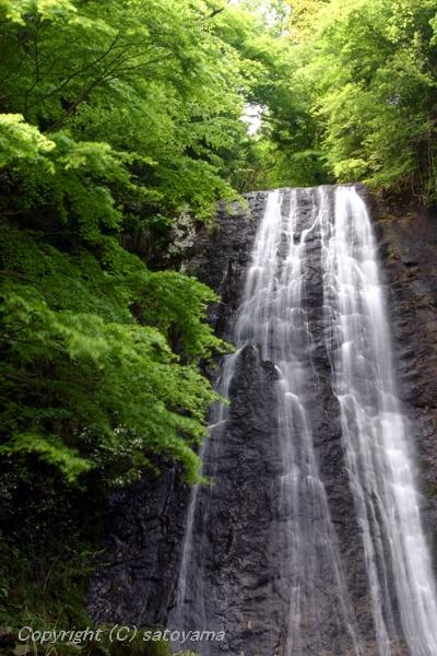 笠形山の滝3-4