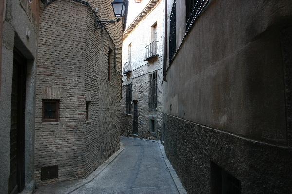 トレドの路地