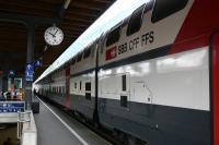スイスの列車