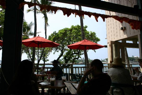 カイルアコナのカフェ